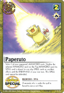 Paperuto card