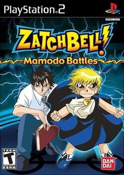 Zatch Bell! Mamodo Battles (PlayStation 2)