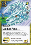 Ragikoru Fangu reycom card full