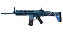 W m rifle scar 1 G 측면
