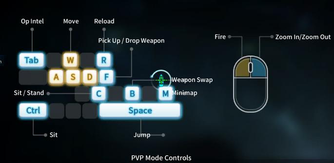 Pvp mode controls