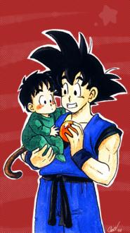 Goku w baby Adrian