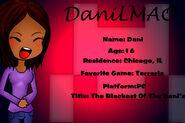 Id Card Dani