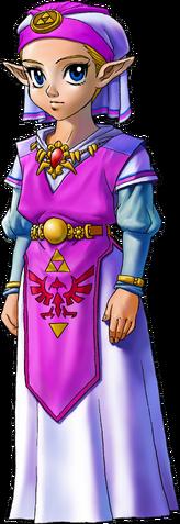 File:Young Princess Zelda (Ocarina of Time).png