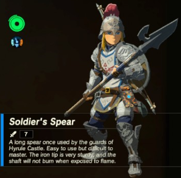 File:Breath of the Wild Soldier's Equipment Soldier's Spear (Inventory).png