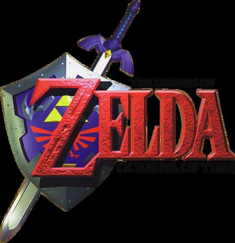 File:The Legend of Zelda - Ocarina of Time (logo).png