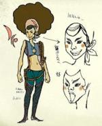 Twilight Princess Artwork Iza (Concept Art)