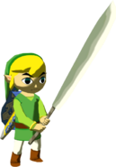 The Wind Waker Toon Link Sharp Machete (Render)