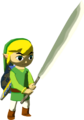 The Wind Waker Toon Link Sharp Machete (Render).png