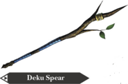 Hyrule Warriors Spear Deku Spear (Render)