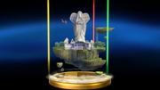 Super Smash Bros. for Wii U Skyloft (Skyward Sword) Skyloft (Trophy)