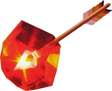 File:Majora's Mask Arrows Fire Arrow (Artwork).png