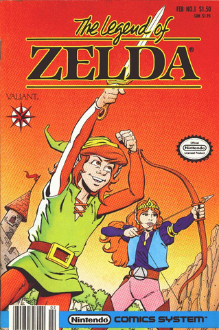 Arquivo:The Legend of Zelda Comic First Issue.png