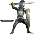 Hyrule Warriors Allied Units Hyrulean Captain - Knight Armor (Render).png
