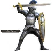 Hyrule Warriors Allied Units Hyrulean Captain - Knight Armor (Render)