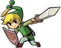 Link Artwork 3 (The Minish Cap)
