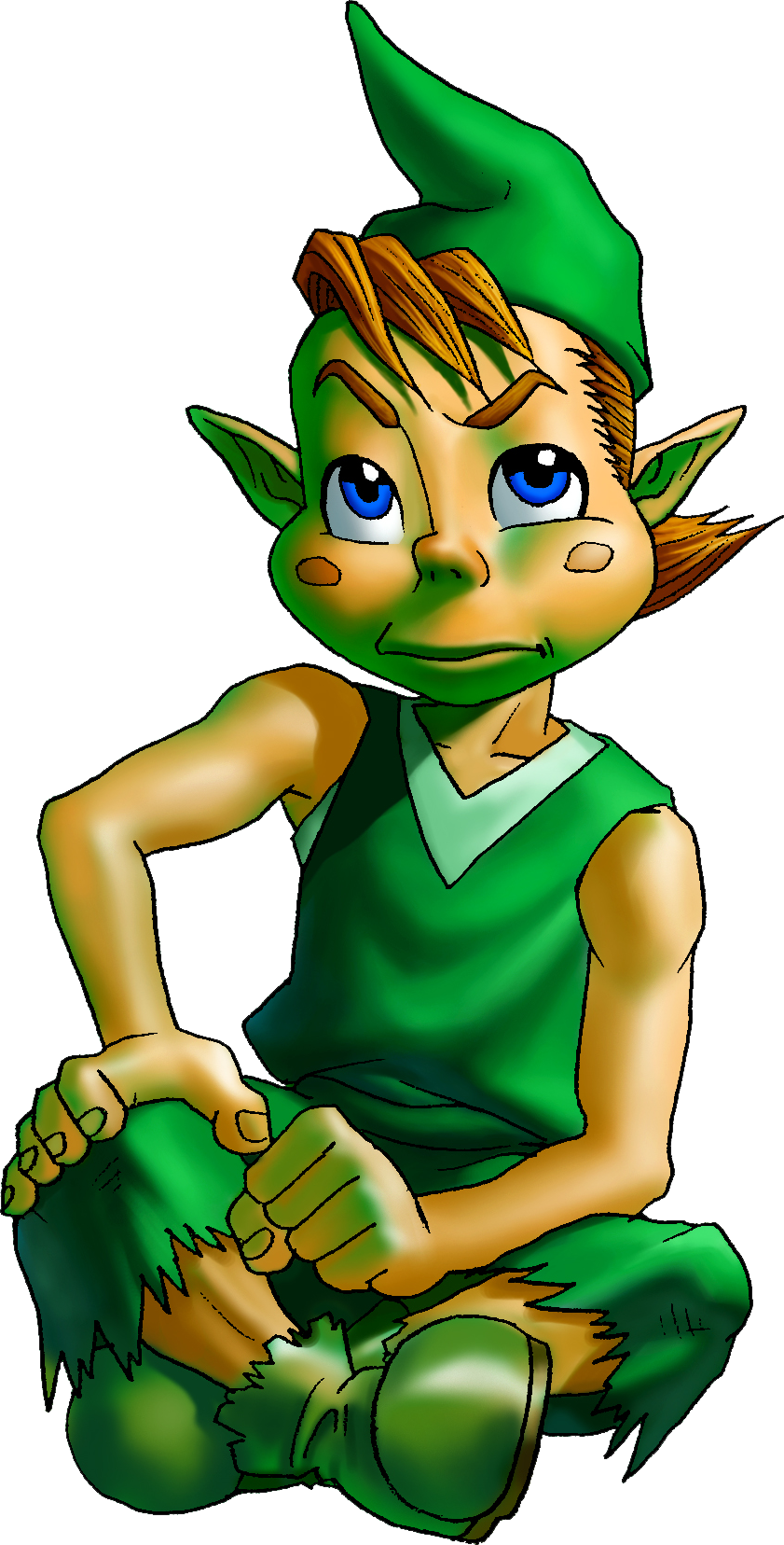 Kid Link Ocarina Of Time Mido | Zeldapedi...