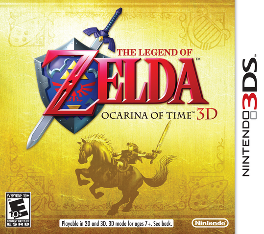 File:The Legend of Zelda - Ocarina of Time 3D (North America).png