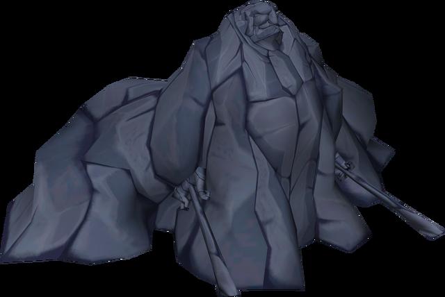 File:The Wind Waker Ganondorf Ganondorf turned to stone (Render).png