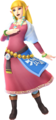 Zelda - Skyloft Robes (Hyrule Warriors Skyward Sword Costume DLC).png