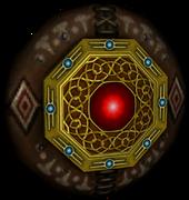 Twilight Princess Enemy Weapons Round Aeralfos Shield (Render)