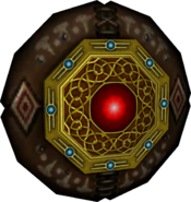 Twilight Princess Enemy Weapons Round Aeralfos Shield (Render)