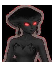 Hyrule Warriors Princess Ruto Dark Ruto (Dialog Box Portrait)
