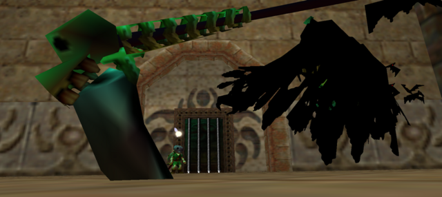 File:Majora's Mask Gomess Close-up of Gomess' fallen scythe following his defeat.png