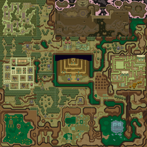 File:A Link to the Past Overworld Map (Dark World).png