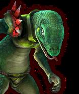 Hyrule Warriors Lizalfos (Dialog Box Portrait)