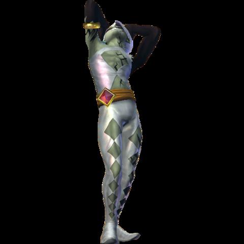 File:Hyrule Warriors Ghirahim Damaged Self (Alternate Costume - Twilight DLC).png