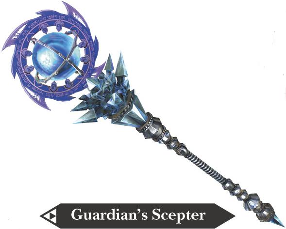 File:Hyrule Warriors Scepter Guardian's Scepter (Render).png