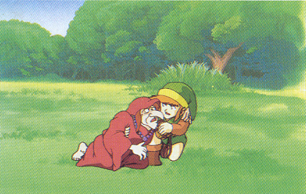 Arquivo:Link and Impa (The Legend of Zelda).png