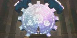 O Portal do Tempo no Templo Selado