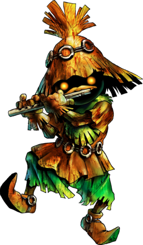 File:Skull Kid Artwork (Ocarina of Time).png