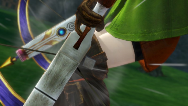 File:Hyrule Warriors Crossbows Linkle reloading her Hylian Crossbows (Victory Cutscene).png