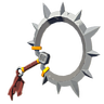 File:Breath of the Wild Sheikah Yiga Clan Weapons Demon Carver (Icon).png
