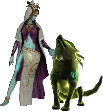 File:Hyrule Warriors Legends Twili Midna Standard Outfit (Great Sea - Twilight Princess Zelda Recolor).png