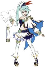 Hyrule Warriors Artwork Lana (Concept Art)