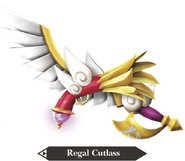Hyrule Warriors Legends Cutlass Regal Cutlass (Render)
