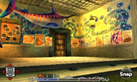 Majora's Mask 3D Ocean Fishing Hole Fish Jounal Bulletin Board & Fish Posters (Interior Door)