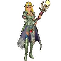 Hyrule Warriors Legends Princess Zelda Standard Robes (Grand Travels - PH Phantom Recolor)