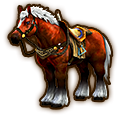 Hyrule Warriors Horse Epona of Time (Level 3 Horse)