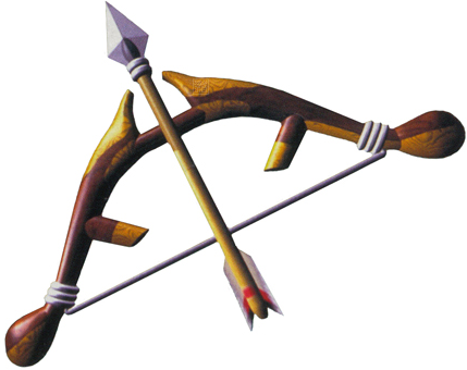 File:Majora's Mask Bow Hero's Bow (Artwork).png