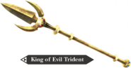 Hyrule Warriors Legends Trident King of Evil Trident (Render)