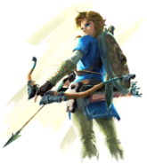 Breath of the Wild Artwork Link (Official Artwork)