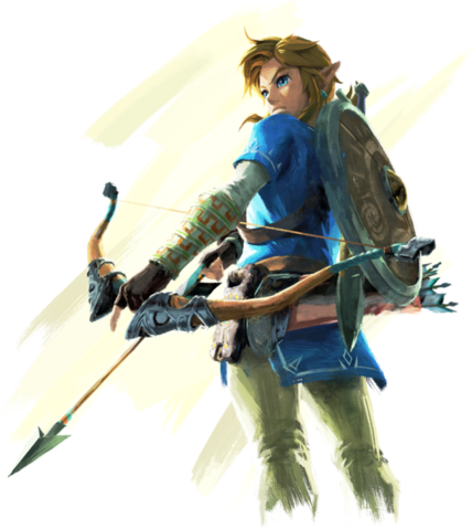 File:Breath of the Wild Artwork Link (Official Artwork).png