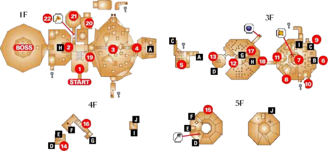 File:Fire Temple Map (Ocarina of Time).png