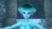 Hyrule Warriors Zora's Domain (King's Hall) Princess Ruto (Victory Cutscene)
