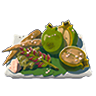 Breath of the Wild Food Dish (Salt-Grilled) Salt-Grilled Greens (Icon).png